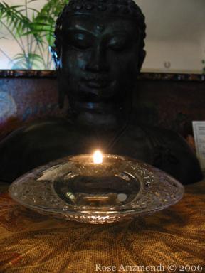 Buddha & Candle