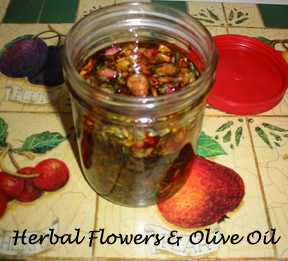 Herbal Flower Infused oil